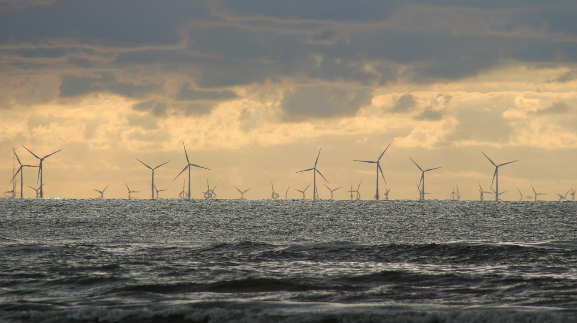 Un parque eólico sobre el mar para dar energía a 600.000 hogares