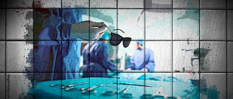 Gafas holográficas para operar a corazón abierto