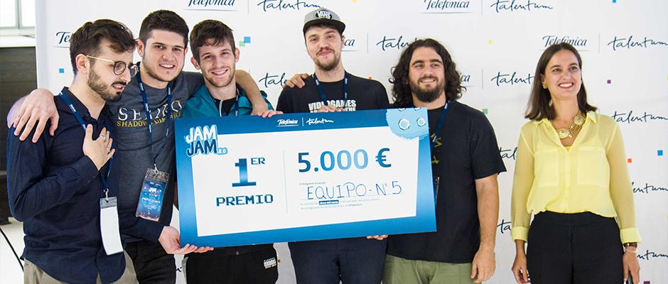 La segunda Game Jam de Talentum, un éxito que premia al talento joven del videojuego