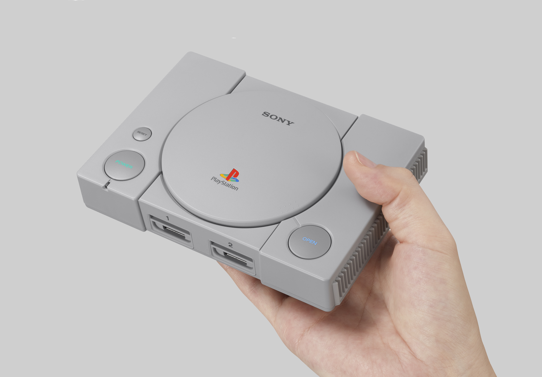 Sony se apunta a la nostalgia de Nintendo con la PlayStation Classic