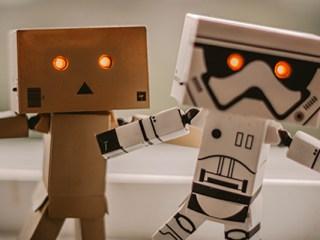 inteligencia artificial robot portada foto