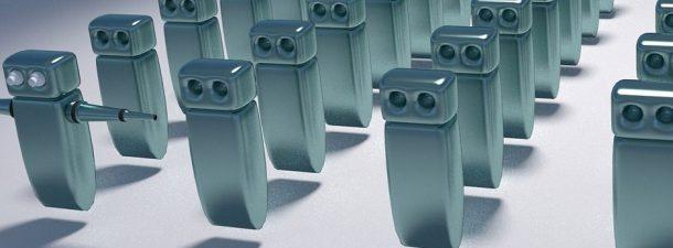 El progreso de crear robots inútiles