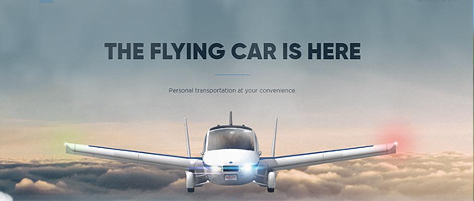 El primer coche volador llega al mercado