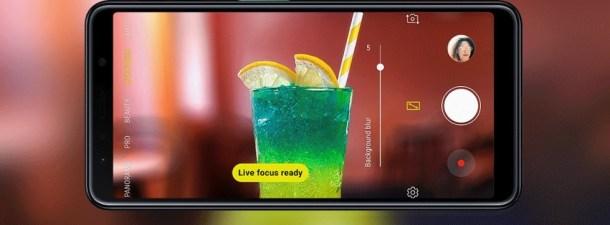 Samsung presenta el primer móvil del mundo con cuatro cámaras traseras