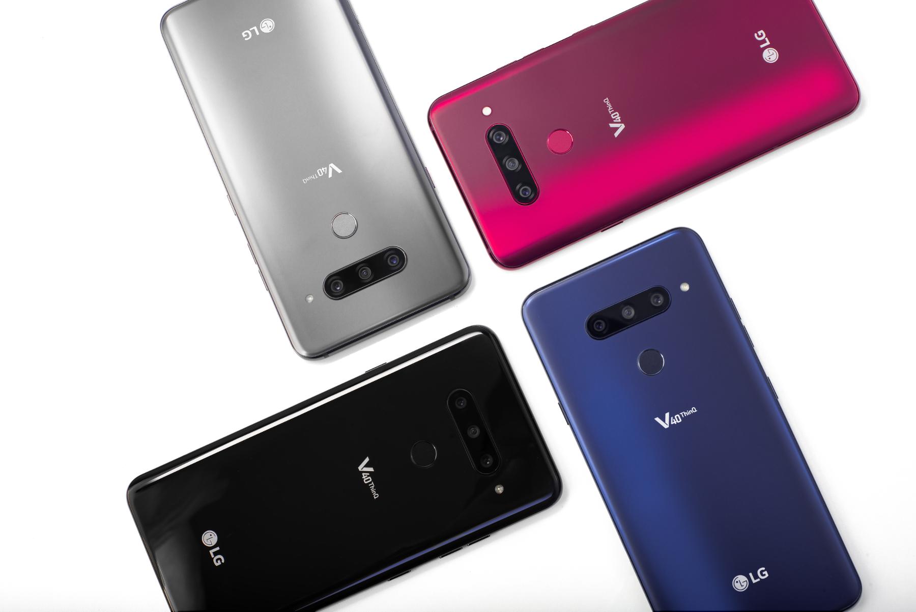 Las cinco cámaras del LG V40 ThinQ son las más útiles para el usuario medio