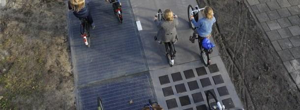 Holanda: del carril bici solar a las carreteras en cuatro años