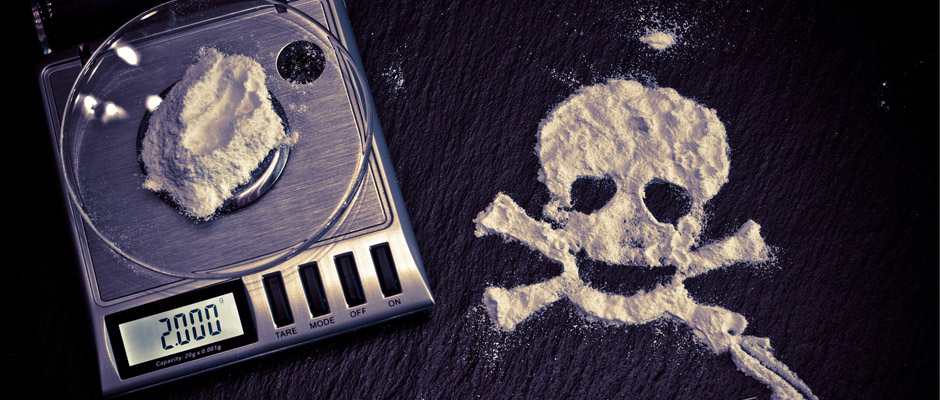 cocaína injertos de piel