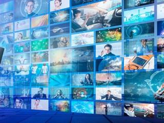 industria del entretenimiento y los medios
