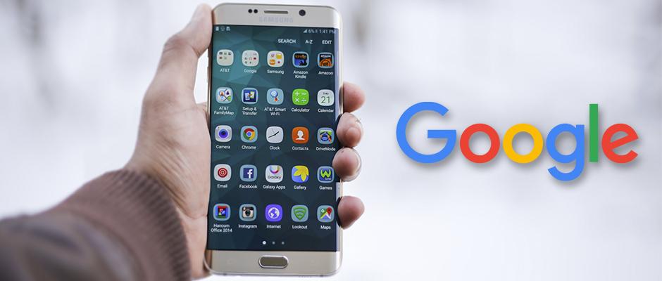 foto google android movil smartphone mano