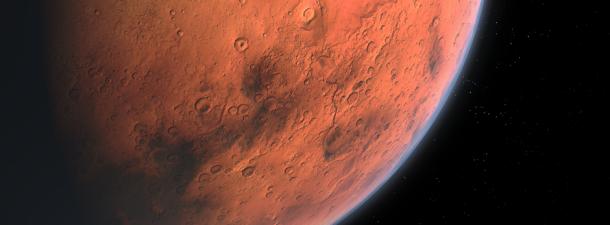 El hielo, pieza clave para futuras bases en Marte