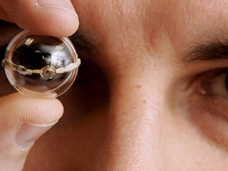 ojo bionico impresora 3d