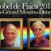 Nobel de Física 2018 para los genios en la física del láser