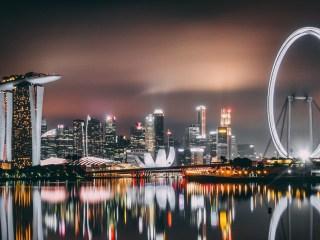 Taxis voladores en Singapur
