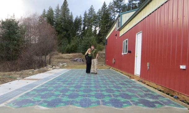 eficiencia de las carreteras solares