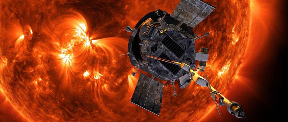 La Sonda Parker se sitúa en la corona solar
