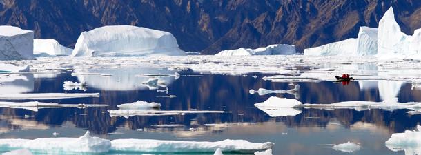 Groenlandia cráter