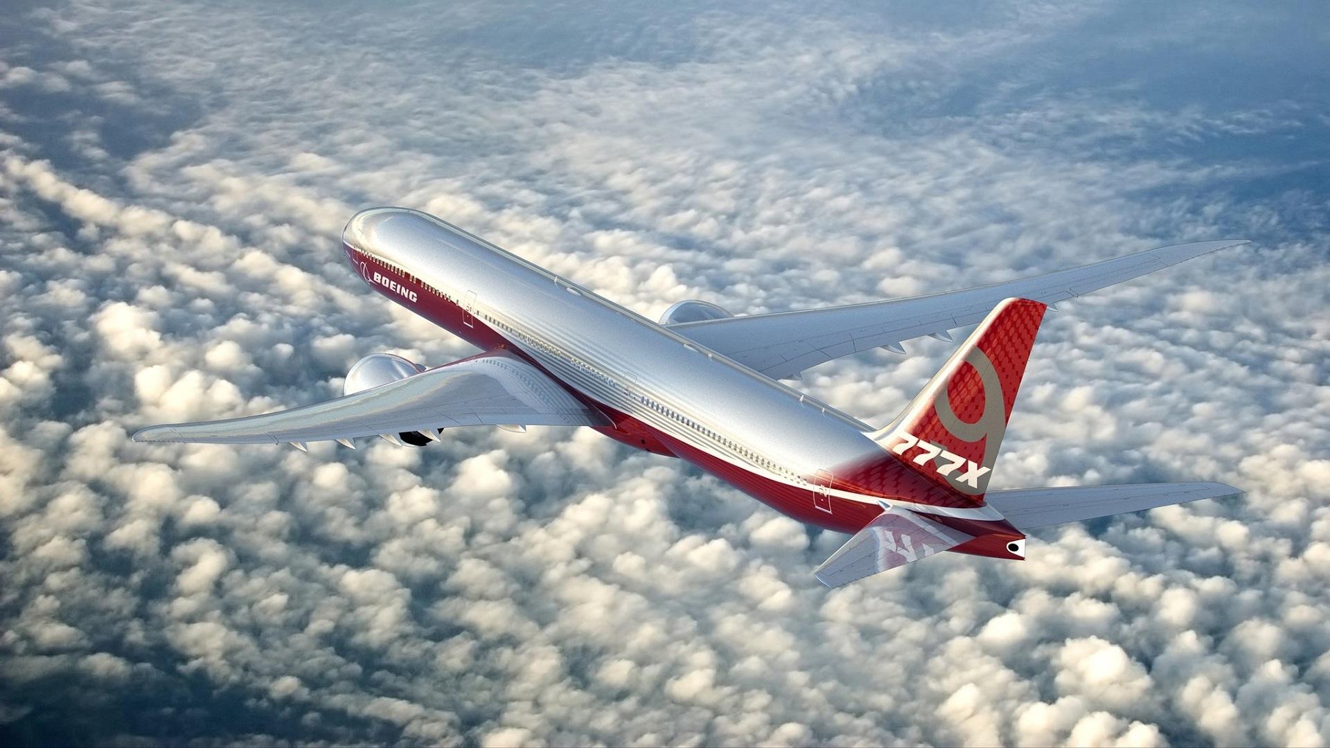 El próximo Boeing 777 presumirá de alas plegables