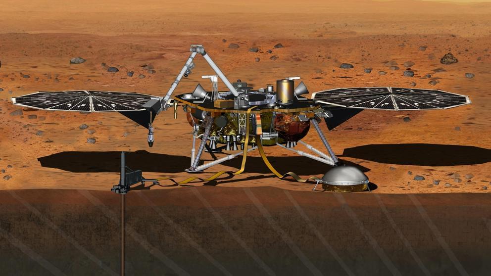 """InSight aterriza con éxito en Marte tras superar los """"siete minutos de terror"""""""