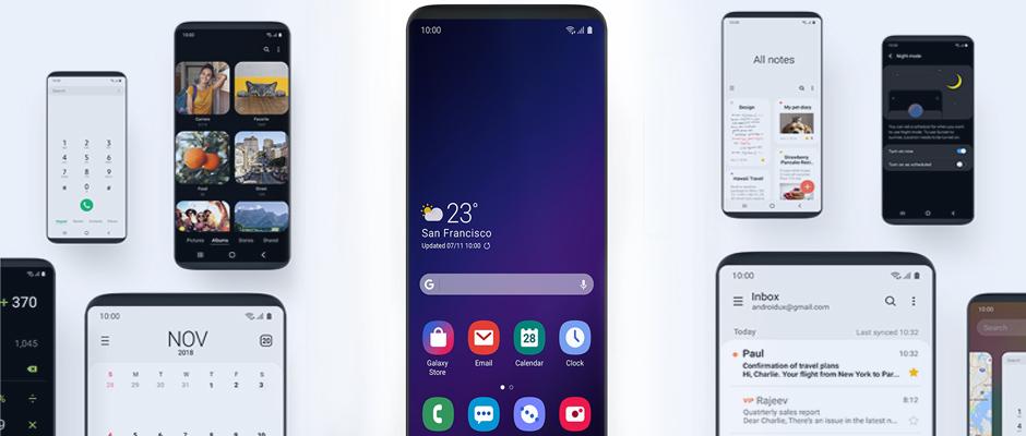 La nueva interfaz One UI de Samsung ya se puede probar en los Galaxy S9 y S9 Plus