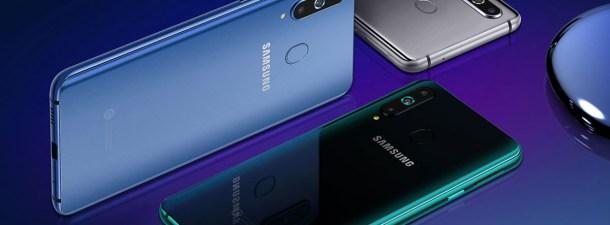 Samsung presenta el Galaxy A8s, el primer smartphone con pantalla Infinity 0