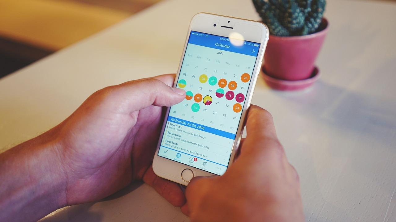 Calendarios para organizarte mejor en iPhone y Android