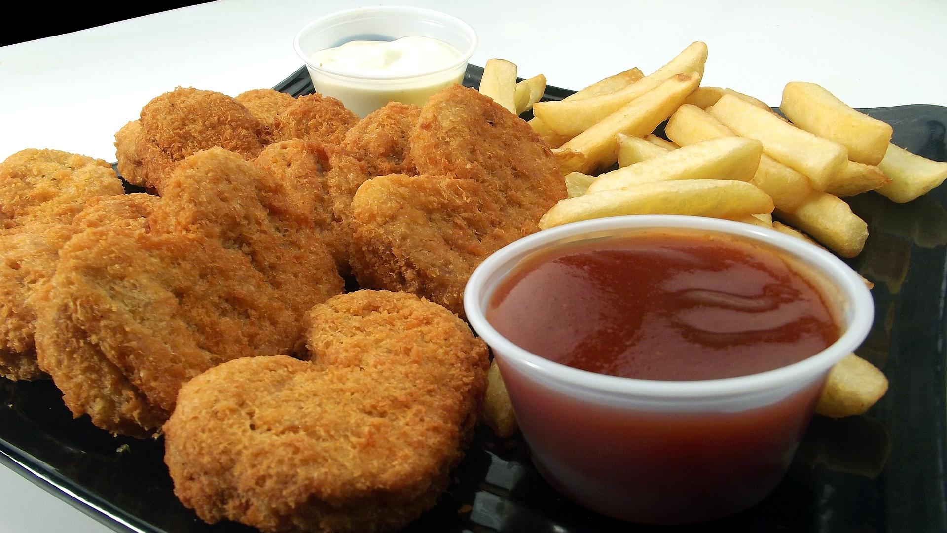 Producir nuggets de pollo sin matar a ningún animal