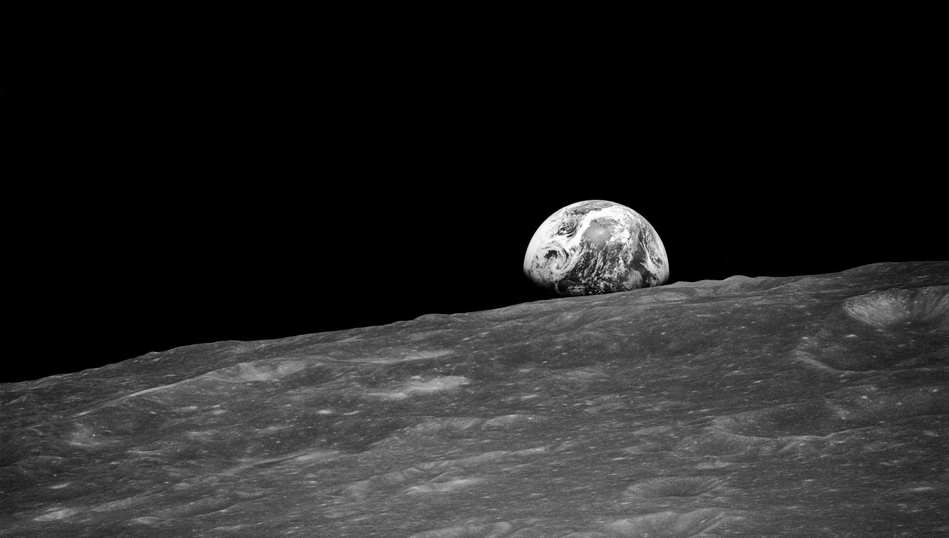 Apolo 8: cuando el ser humano vio lo pequeño que era
