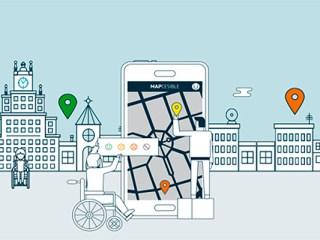 Mapcesible app accesibilidad ciudades