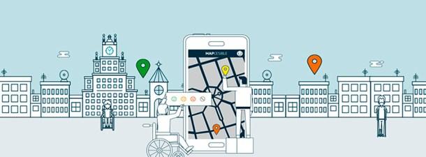 Mapcesible, la accesibilidad de las ciudades a solo un click