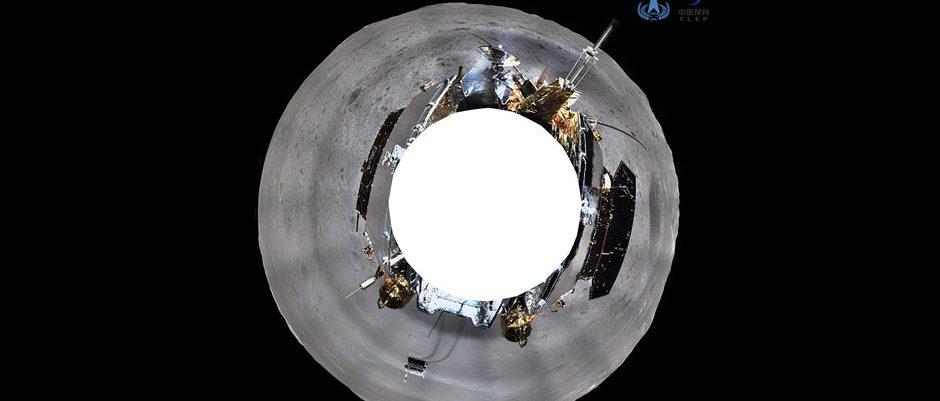La sonda china Chang'e envía las primeras fotografías del lado oculto de la Luna