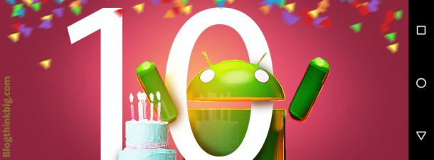 Android, desde Linux hasta los postres