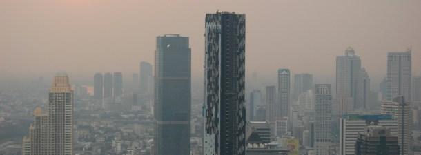 Tailandia quiere provocar lluvia artificialmente para paliar la polución