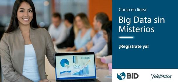 big data bid telefonica curso online gratuito