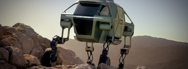 ¿El prototipo de coche con patas de Hyundai muestra el futuro?