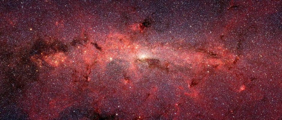 Una colisión podría sacar al Sistema Solar de la Vía Láctea