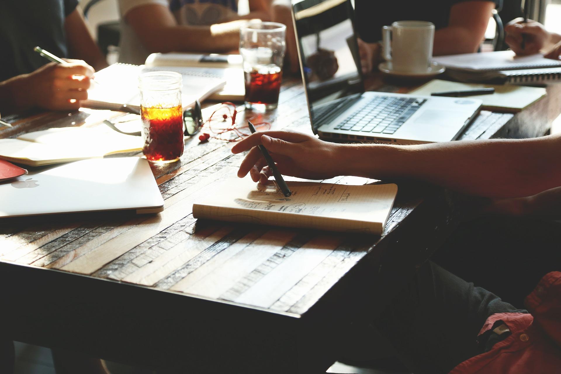 Un espacio virtual donde trabajar en equipo