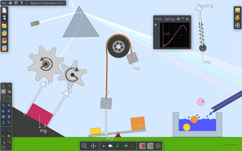 La física puede ser divertida con Algodoo