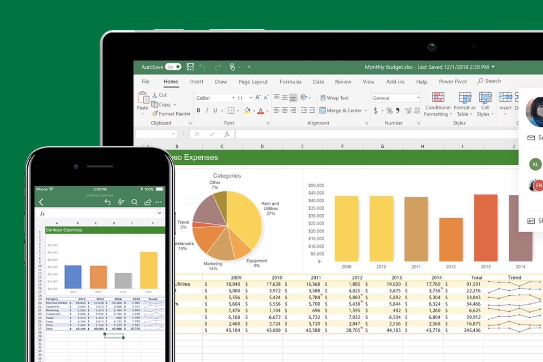 Microsoft Excel permite añadir cotizaciones bursátiles en tus hojas de cálculo