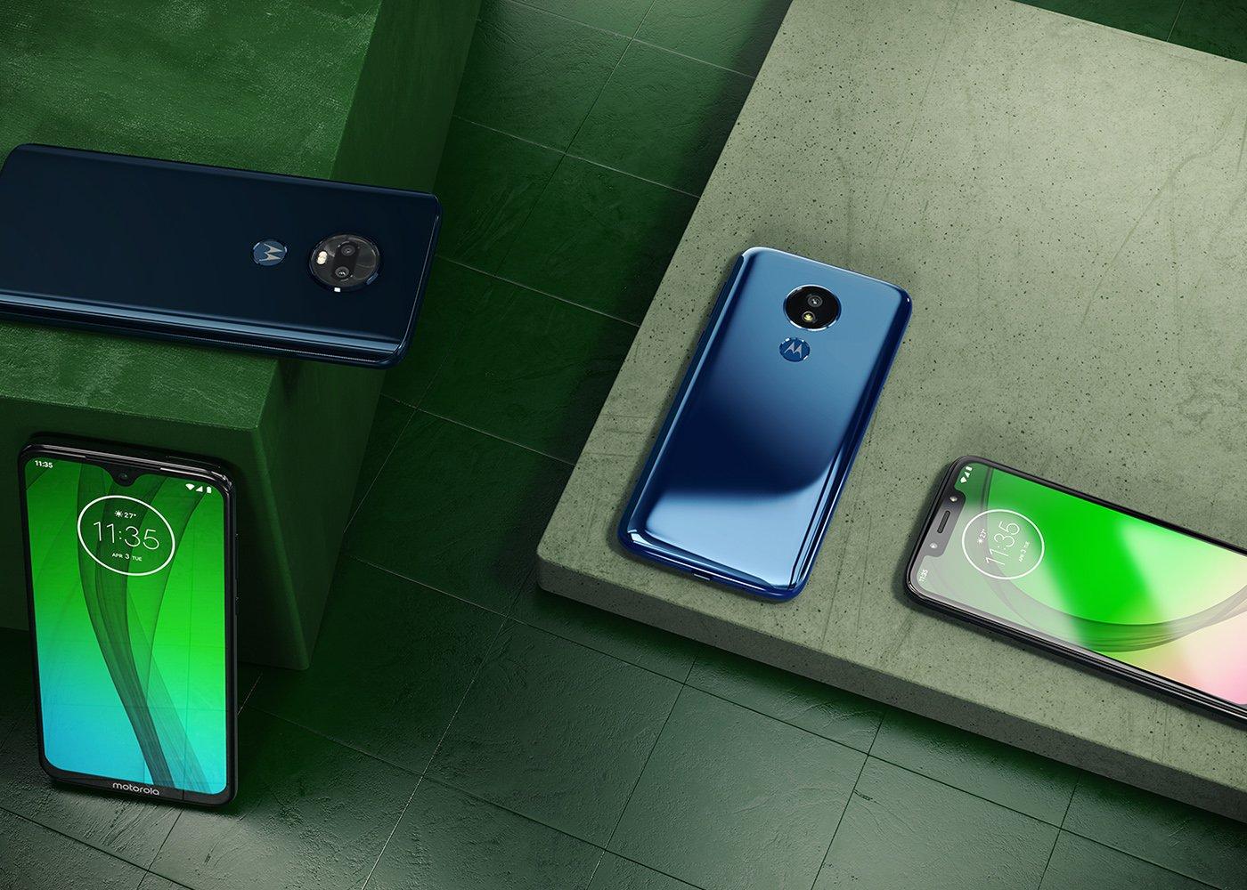 Motorola presenta su nueva gama de smartphones: Moto G7, Moto G7 Plus, G7 Play y G7 Power