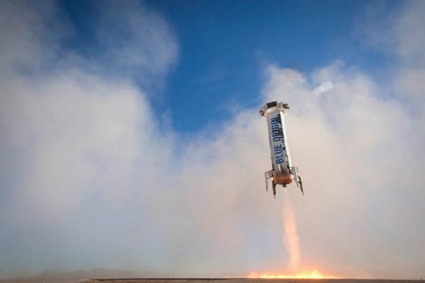 Blue Origin lanzará astronautas