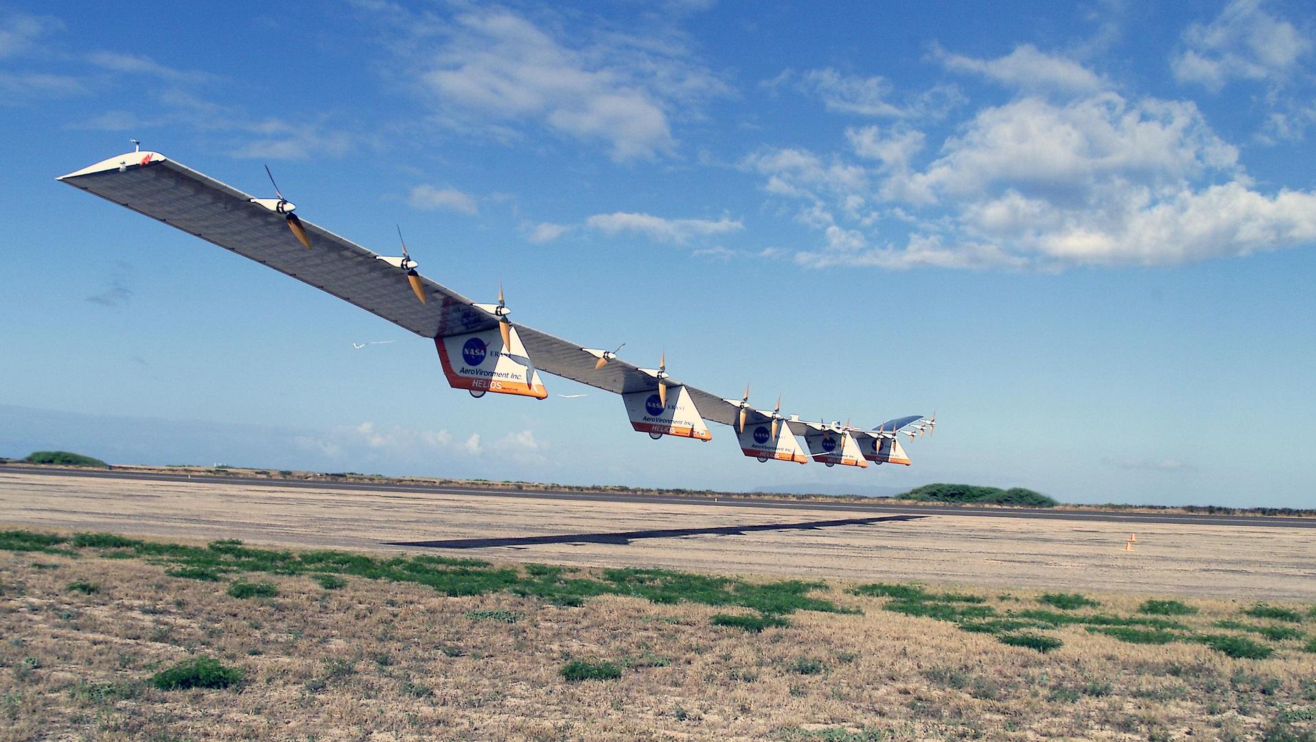La NASA desarrolla un dron solar para conectar el espacio