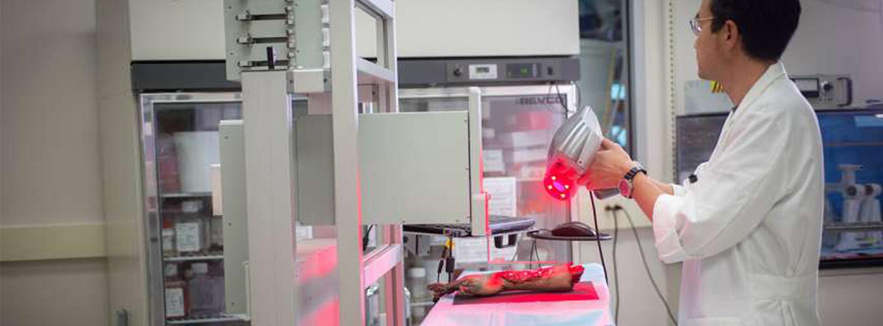 Esta impresora 3D imprime piel nueva directamente sobre las heridas