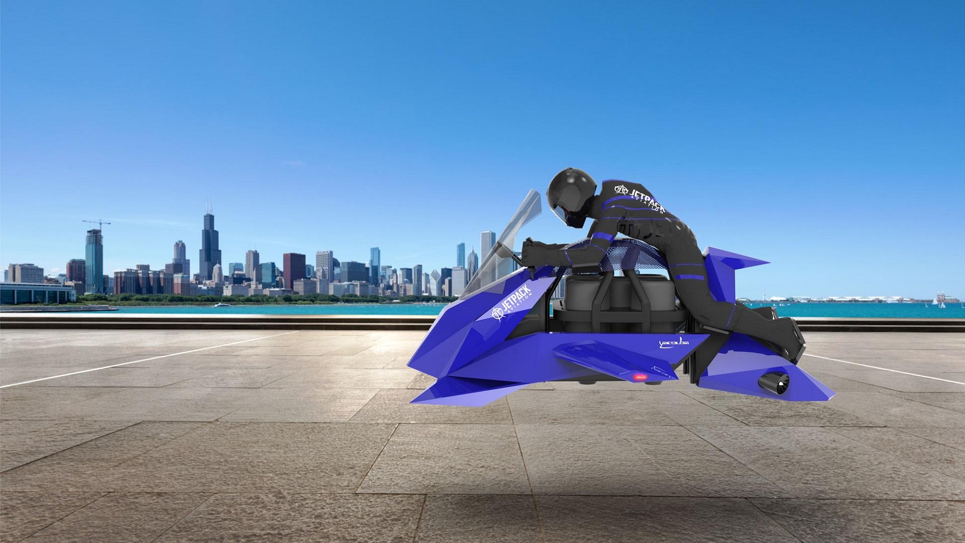 La moto voladora, esa ilusión futurista que podría llegar en 2020