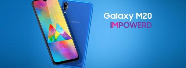 Samsung presenta el Galaxy M20 en España
