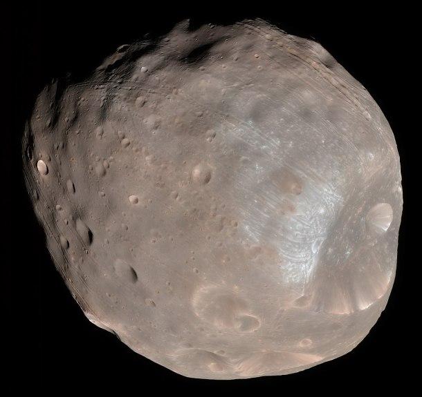Phobos Luna Marte Eclipse Curiosity