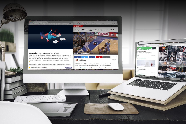 Muestra las pestañas abiertas a la vez en Google Chrome