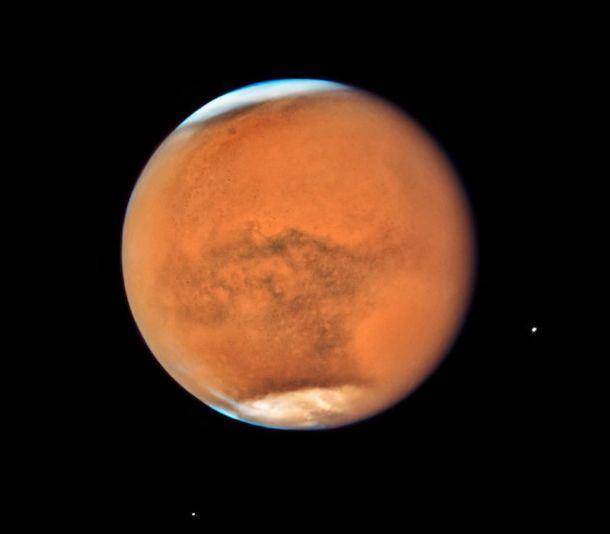 Hubble Marte Telescopio NASA