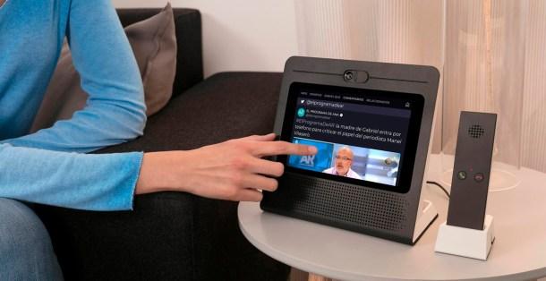 movistar home nuevas funcionalidades dispositivo mano telefonica