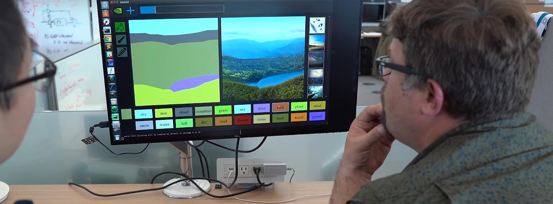 Una inteligencia artificial de Nvidia convierte garabatos en imágenes hiperrealistas