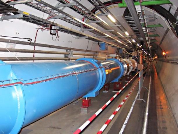 Gran Colisionador de Hadrones Bosón de Higgs ATLAS